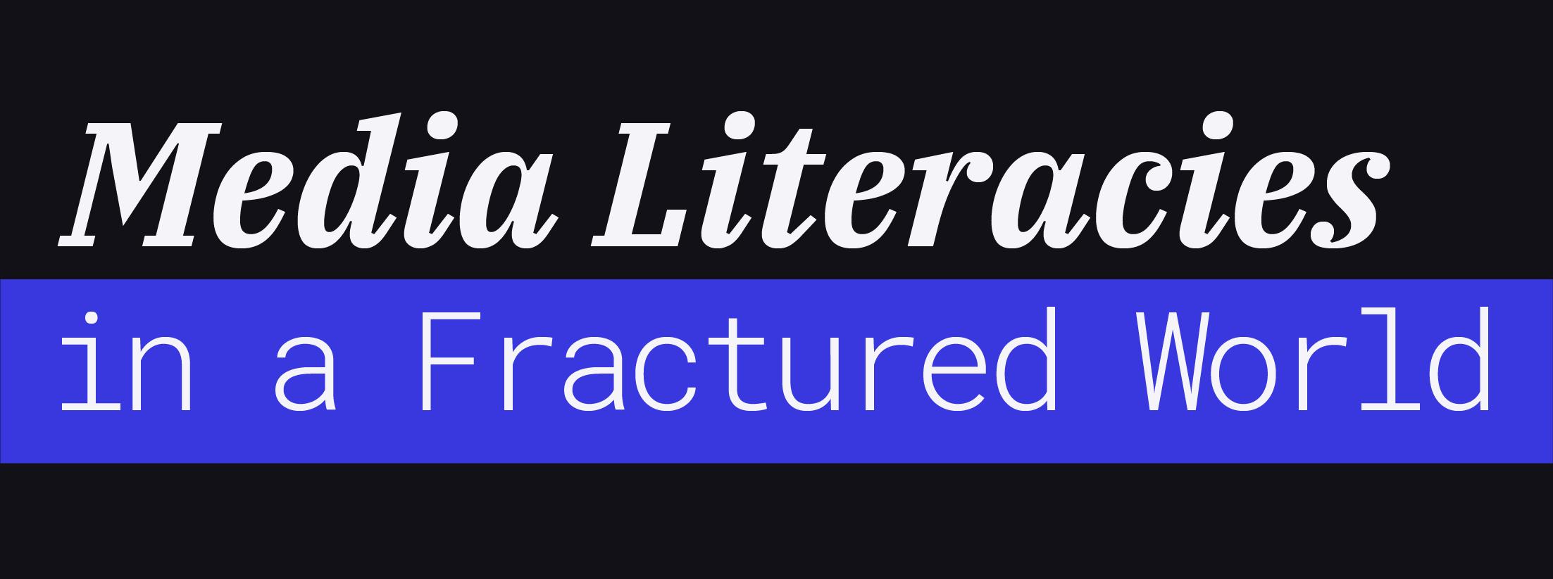 Media Literacies Text Logo